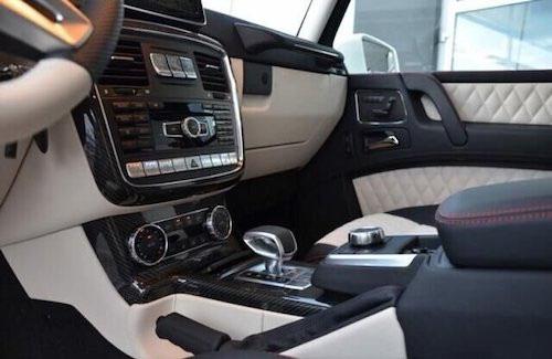 国内能买到的奔驰皮卡 2020款奔驰G63 AMG 6x6皮卡现车配置性能解析