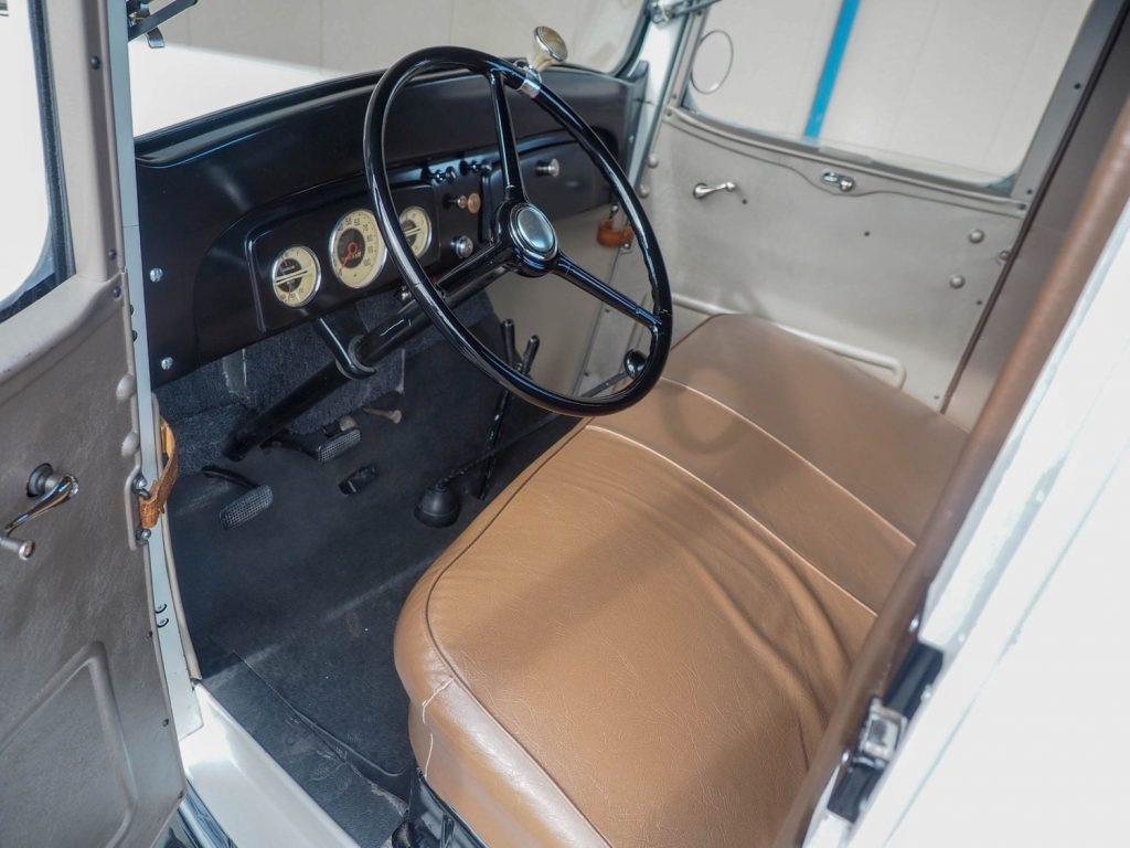1936年雪佛兰老皮卡改装修复版