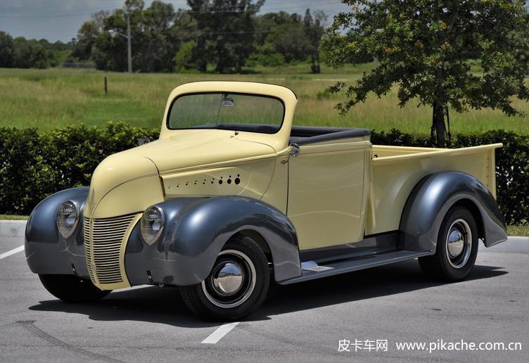 1938年福特皮卡华丽重生,换装5.0升V8,改走可爱路线