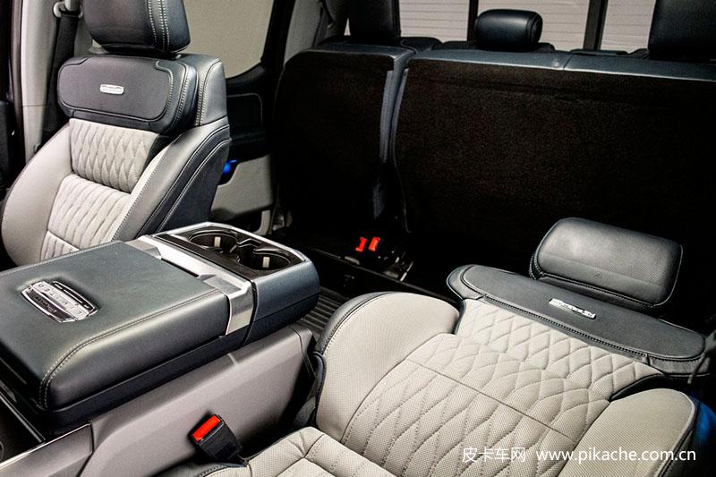 """福特F-150皮卡推出""""超大倾斜座椅"""" 秒变单人床"""