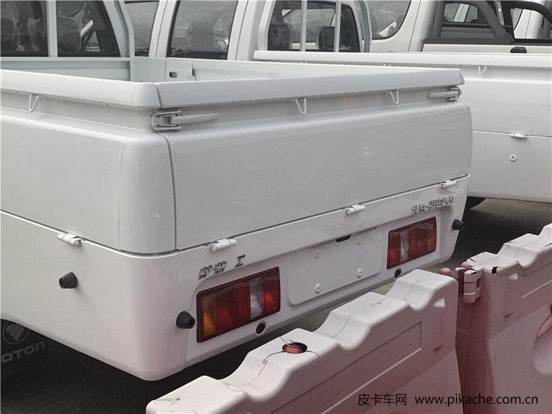 萨普Z皮卡实车曝光,配2米长平底货箱,售价6万