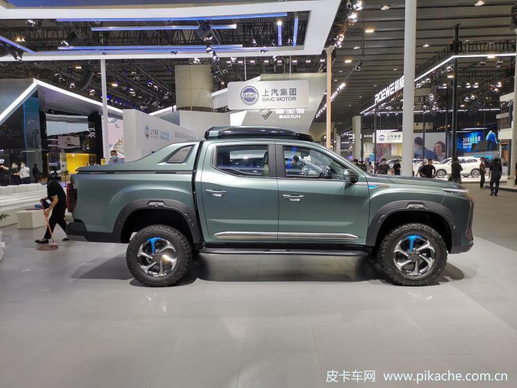 上汽大通NEW EV皮卡2020广州车展发布