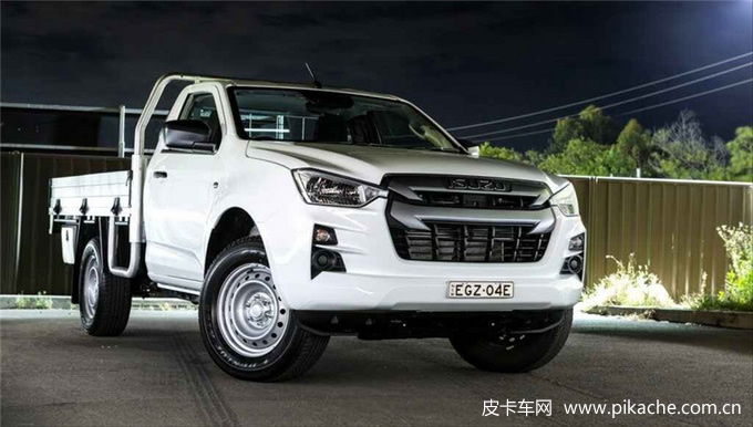 全新D-MAX单排皮卡来了,3.0T 4JJ3柴油发动机