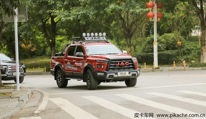 江淮汽车2021年1月皮卡销量3376辆,同比增长195%