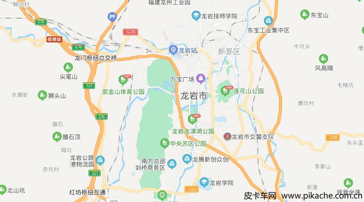 福建省龙岩市最新皮卡限行政策整理,长期更新