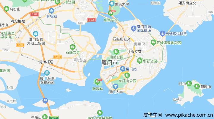 福建省厦门市最新皮卡限行政策整理,长期更新
