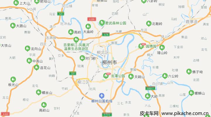 广西省柳州市最新皮卡限行政策整理,长期更新