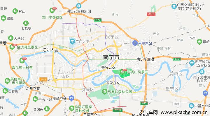 广西省南宁市最新皮卡限行政策整理,长期更新