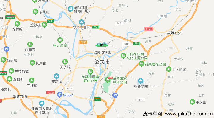 广东省韶关市最新皮卡限行政策整理,长期更新