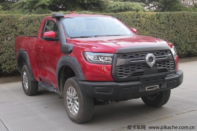 长城炮越野皮卡单排版通过新车公告,上海车展正式亮相
