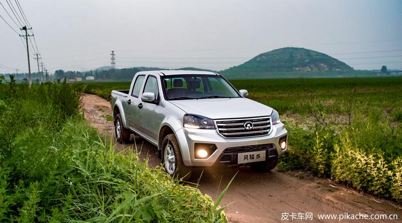 长城风骏5皮卡新增车型超惠型上市,7.98万起售