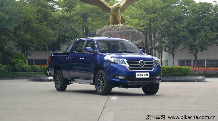 大运皮卡新增5款车型上市,售价10.88-15.08万