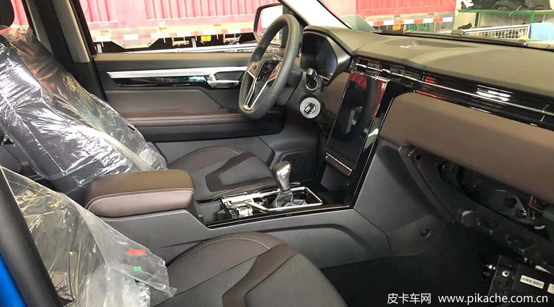 江淮首款自动挡皮卡曝光,江淮T8 Pro将搭载6AT变速箱