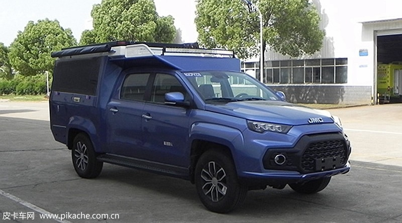 The fishing version of JMC Yuhu 7 pickup truck will be launched in August 2021