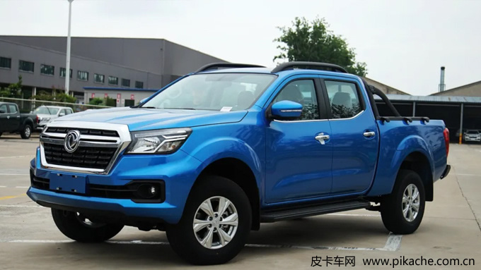 Zhengzhou Nissan pickup Rich 6 flat container version opened for pre-sale, China's first automatic flat bottom container pickup