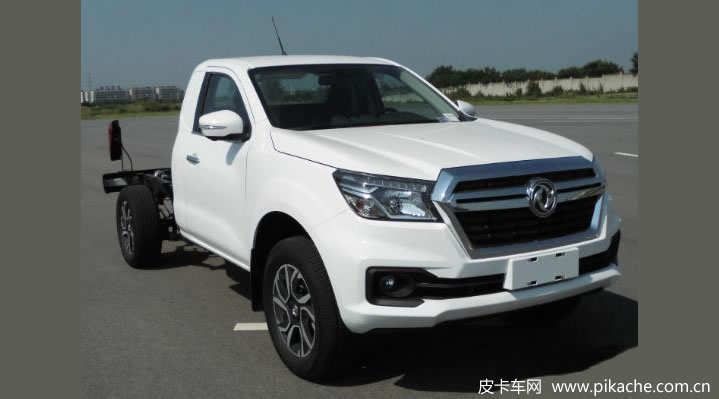 Nissan Rich 6 single-row pickup truck chassis approved by the Ministry of Industry and Information Technology, equipped with M9T diesel engine
