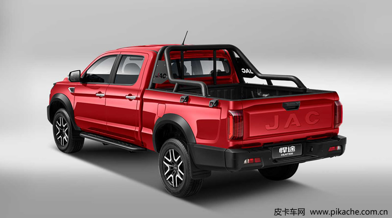 The new JAC Hunter pickup truck is launched, equipped with 2.4t gasoline / 2.5t diesel engine