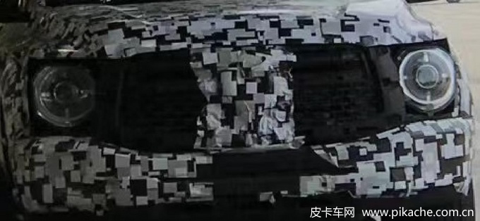 Another new pickup truck model of great wall motor was exposed, and the tank 300 pickup truck version