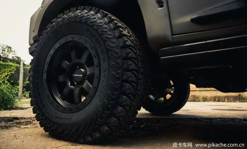 The official picture of SAIC Maxus T90 pickup modified version has been exposed and will be unveiled at Chengdu auto show 2021