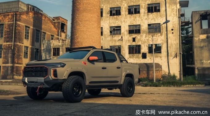 大通T90皮卡特别定制版三大良心配置,装甲涂层+电动踏板+碳纤维内饰