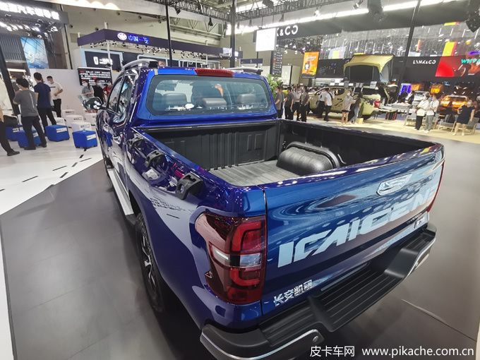 The new Changan Kaicheng F70 pickup truck was launched in September 2021