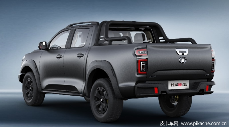 The official picture of the GWM Poer pickup truck Everest version / locomotive version was exposed