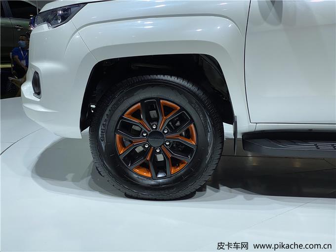 2022 JMC Yuhu 7 pickup truck appears at 2021 Chengdu International Auto Show