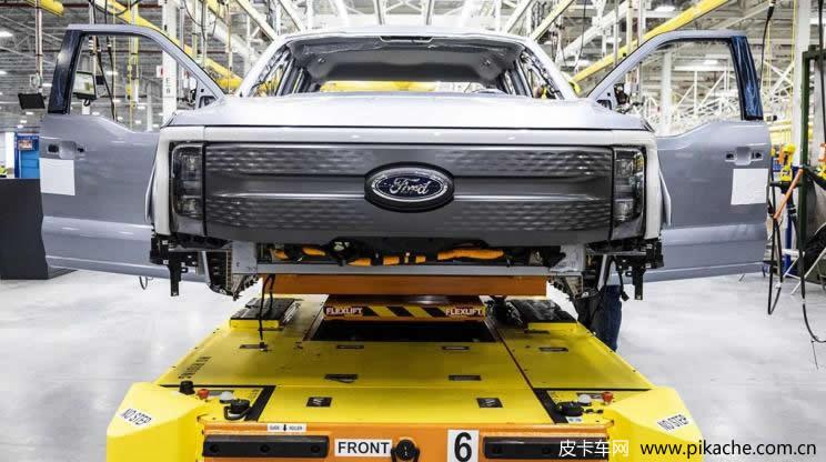 首批福特F-150 Lightning电动皮卡已开启预生产