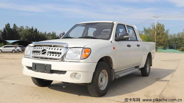中兴皮卡新增车型小老虎汽油1.6L车型上市,售价区间为5.78-5.88万元